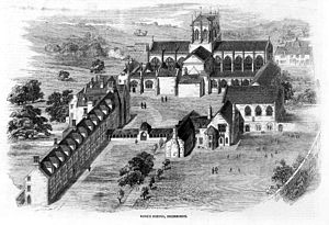 Sherborne School - Illustrated London News, 6 July 1861