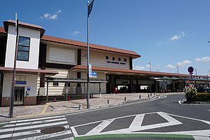 Shin-Kurashiki Station Building (South) 20200524.jpg