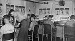 Ship's office aboard USS Hollandia (CVE-97), in 1944-1945.jpg