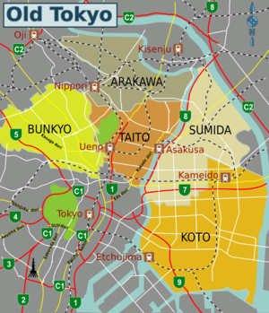 Tokyo Travel Guide At Wikivoyage