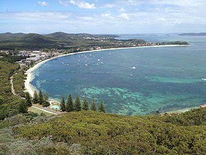 Shoal Bay, New South Wales - Shoal Bay, NSW in 2012