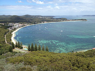 Shoal Bay, New South Wales Suburb of Port Stephens Council, New South Wales, Australia
