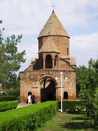 Shoghakat Church - Shoghakat Church, August 2009