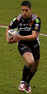 Shontayne Hape New Zealand rugby league and rugby union footballer