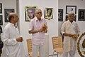 Shyamal Kumar Sen Addressing - 43rd PAD Group Exhibition Inauguration - Kolkata 2017-06-20 0236.JPG