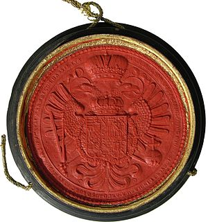 Great Seal - Great Seal of Charles VI, Holy Roman Emperor