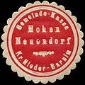 Siegelmarke Gemeinde-Kasse Hohen Neuendorf - Kreis Nieder-Barnim W0262816.jpg