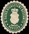 Siegelmarke Königlich Sächsisches Standesamt Neschwitz - Amtshauptmannschaft Bautzen W0252156.jpg