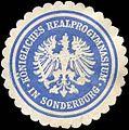 Siegelmarke Königliches Realprogymnasium in Sonderburg W0215541.jpg