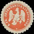 Siegelmarke K.Pr. Intendantur der 19. Division W0348220.jpg