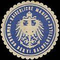 Siegelmarke K. Marine Kommando der VI. Halbflottille W0357589.jpg