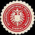 Siegelmarke Reichsbevollmächtigter für Zölle und Steuern - Hamburg W0214717.jpg
