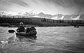 Sierra in a packraft on the Dezadeash River (10249685664).jpg