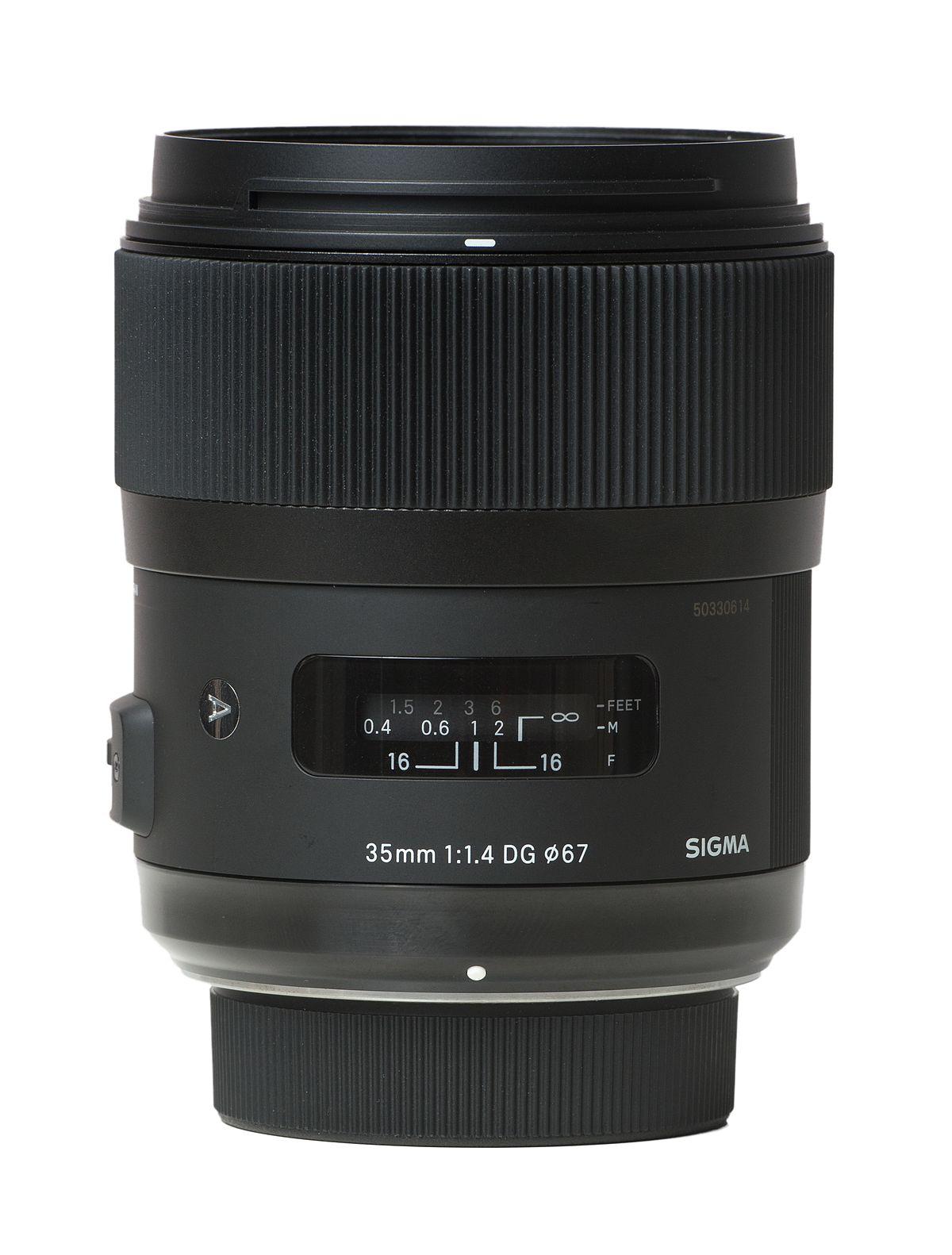 2a9fb42da1a9d Sigma 35mm f 1.4 DG HSM lens - Wikipedia