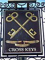 Sign for the Cross Keys - geograph.org.uk - 1561699.jpg
