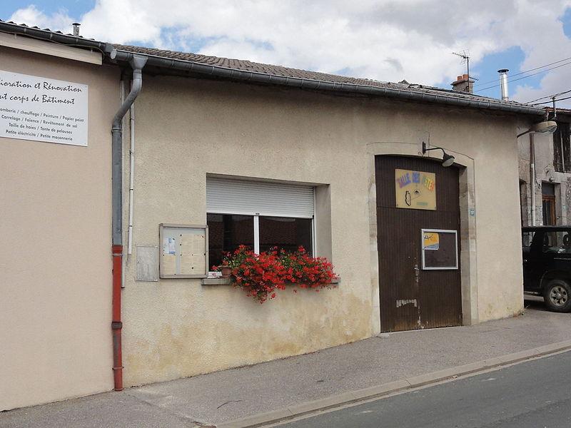 Silmont (Meuse) salle des fêtes