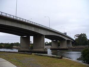 Silverwater Bridge - Image: Silverwater Bridge