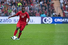 Silvestre Varela - Croatia vs. Portugal, 10th June 2013 (2).jpg