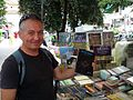 Sime and His Book about Free Masons in Macedonia (14876200044).jpg