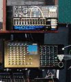 Simmons MTM, SDS 7, SDS 800, along with Tama Techstar TS305 (bottom left) - Shawn Rudiman's Studio.jpg