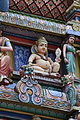 Singapore. Sri Mariamman. Gopuram. South East-17.JPG