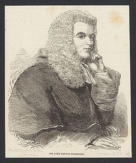 John Taylor Coleridge English judge