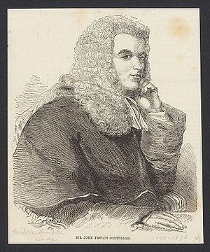 John Taylor Coleridge - Sir John Taylor Coleridge.