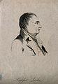 Sir John Leslie. Line engraving by W. Wastle, 1819, after P. Wellcome V0003516EL.jpg