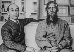 Sir William Rothenstein and Rabindranath Tagore, early 20th century