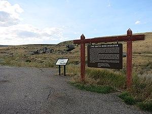 Bearcreek, Montana - Smith Mine Historic District, Montana Highway 308 Bearcreek