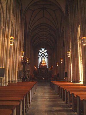 Skara Cathedral - Image: Skara domkyrka, den 20 aug 2006, bild 6
