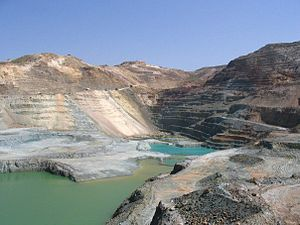 Cyprus Mines Corporation - Skouriotissa Copper Mine in Cyprus