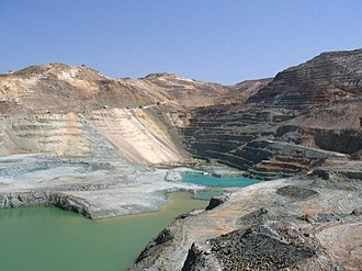 Cyprus Mines Corporation - Skouriotissa Copper Mine in Cyprus