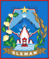 Official seal of Sleman Regency