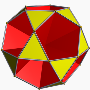 Small dodecahemidodecahedron - Image: Small icosihemidodecahedro n