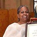 Snehlata Nath received the Nari Shakti Puraskar in Delhi (cropped).jpg