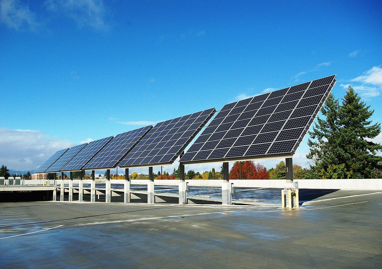File Solar Panels Front At The Hillsboro Intermodal