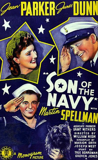 Son of the Navy - Film poster