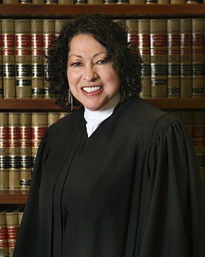 Alice Corp. v. CLS Bank International - Sonia Sotomayor 7 in robe, 2009