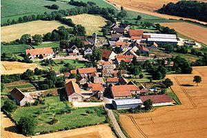 Source-Seine - Image: Source Seine vu du ciel