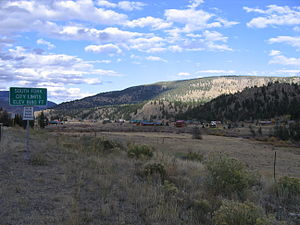 South Fork, Colorado - Housing on the outskirts of town