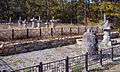 South Korea-Goheunggun-Neunggasa 5875-07 stupas.JPG