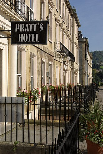 South Parade, Bath - Image: South Parade Bath