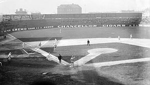 South Side Park - Game action at South Side Park, 1907