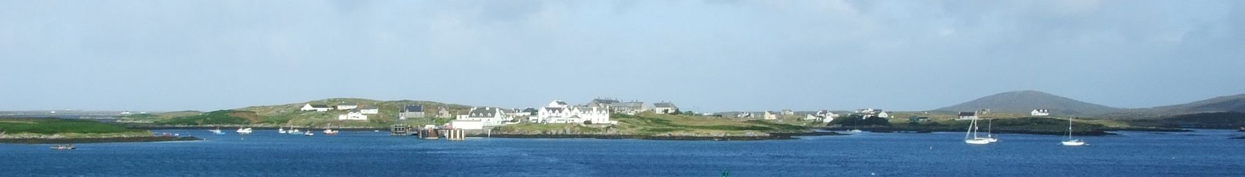 South Uist banner Lochboisdale from the ferry.JPG