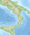 Southern Italy topographic map-blank.png