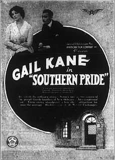 <i>Southern Pride</i> (film) 1917 silent film by Henry King