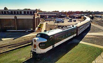 North Carolina Transportation Museum - Image: Southern Railway 6133