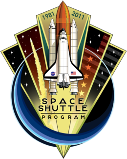 Space Shuttle Program commemorative patch Space Shuttle Program Commemorative Patch.png