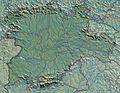 Spain Castile and León relieve location map.jpg